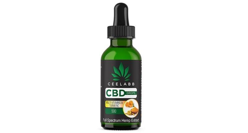 ceelabb cbd drops multivitamins turmeric supplement